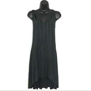 NWT Anthropologie Sleeveless Green Sparkles Dress